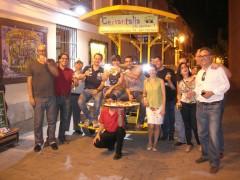 De tapas por Alcalá con el bicibús