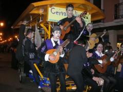 La Tuna de Alcalá de Henares en nuestro bicibús