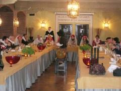 Disfrutando de las Cenas Cervantinas
